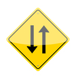 Two way sign vector