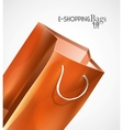 Bag background vector