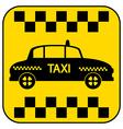 Taxi button vector