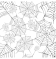 Spiders web vector