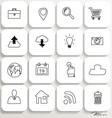 Application icons design set 1 vector