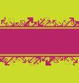 Arrow banner background vector