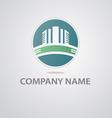 Logo of the construction company vector