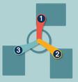1 2 3 flat options vector
