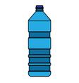 Blue bottle vector