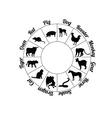 Chinese zodiac vector