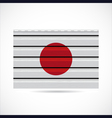 Japan siding produce company icon vector