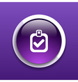 Checkmark icon test form mark tick check choice vector