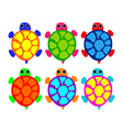Turtles vector
