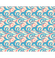 Geometric seamless pattern background retro style vector