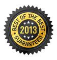 Best of the best 2013 label vector