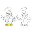 Smiley cook vector