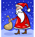 Santa claus cartoon christmas vector