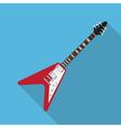 Flat guitar 3 vector