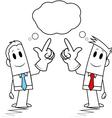 Square guy - similar idea vector