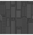 Seamless city wallpaper vector