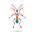Ant abstract isolated vector