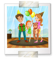 A family picture vector