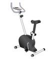 Bike for exercises vector