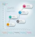 3d infographics diagram business vector