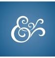 Custom ampersand vector