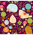 Cute animals background vector