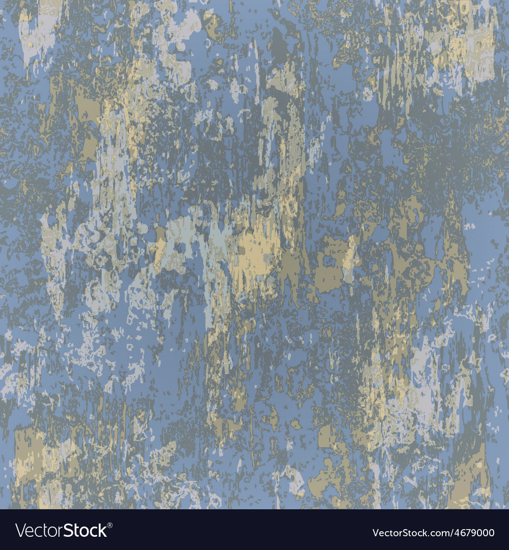 Abstract seamless texture of blue rusted metal vector   Price: 1 Credit (USD $1)