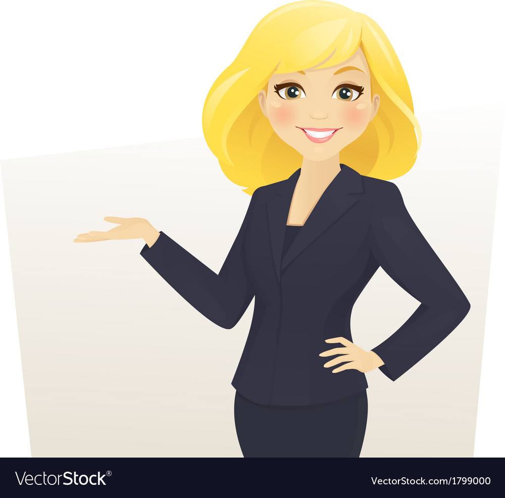 Businesswoman vector | Price: 1 Credit (USD $1)