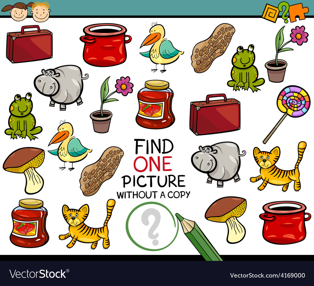 Find single picture game cartoon vector | Price: 3 Credit (USD $3)