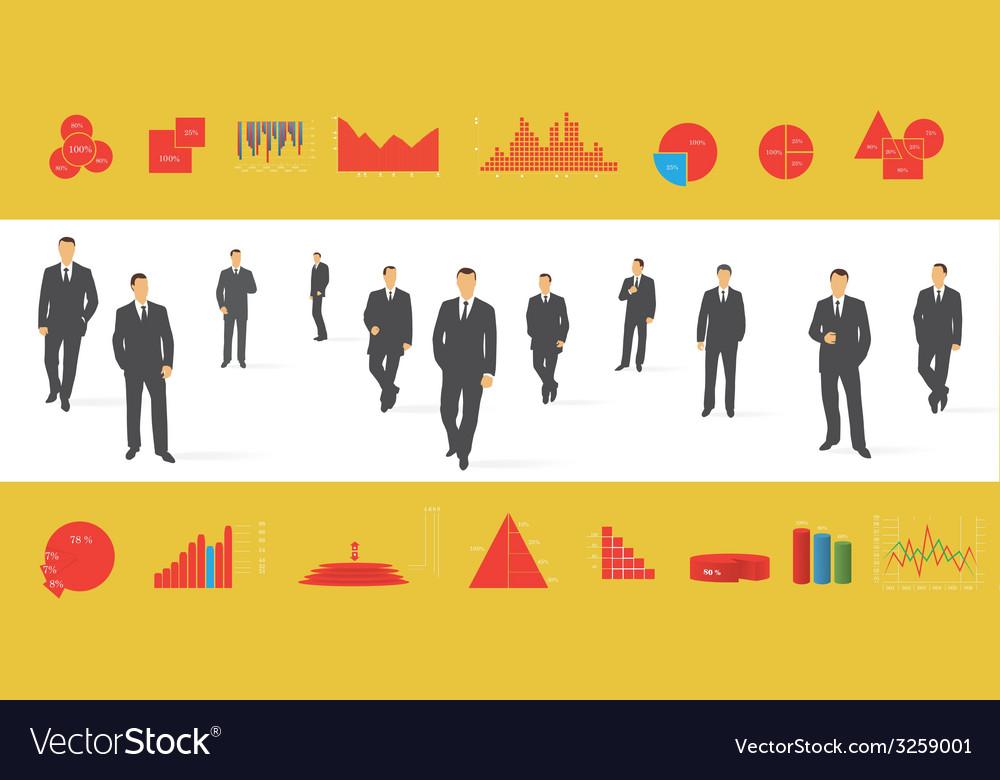 Big set of infographics elements vector | Price: 1 Credit (USD $1)