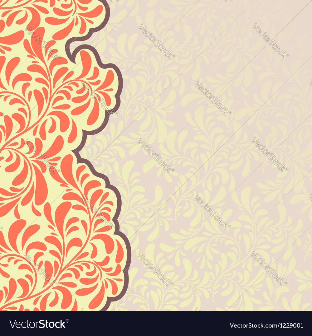 Decorative element border vector | Price: 1 Credit (USD $1)