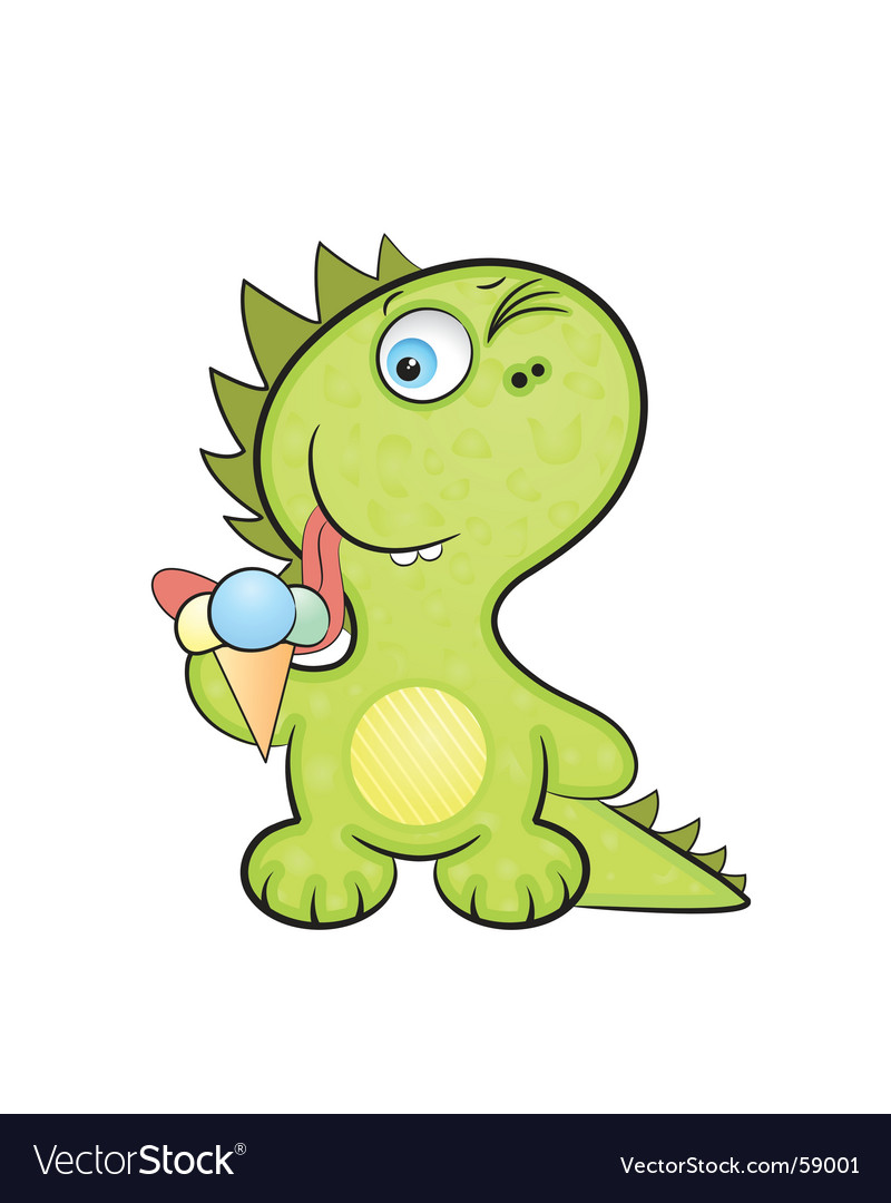 Dragon baby vector | Price: 1 Credit (USD $1)