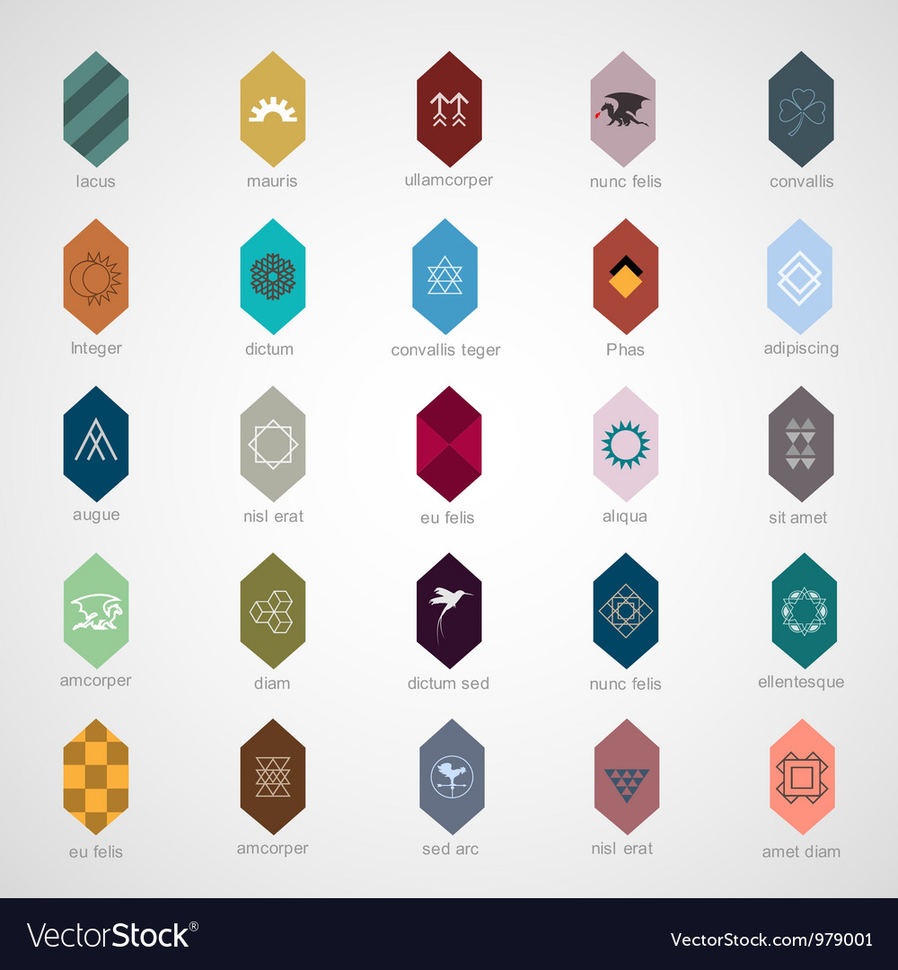 Icons and elements for design vector | Price: 1 Credit (USD $1)