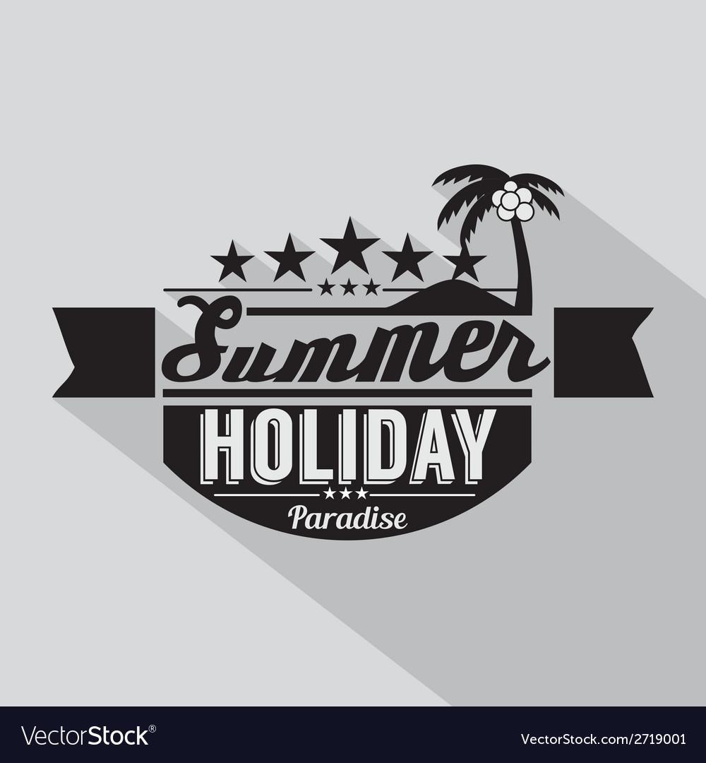 Summer design badge vector   Price: 1 Credit (USD $1)