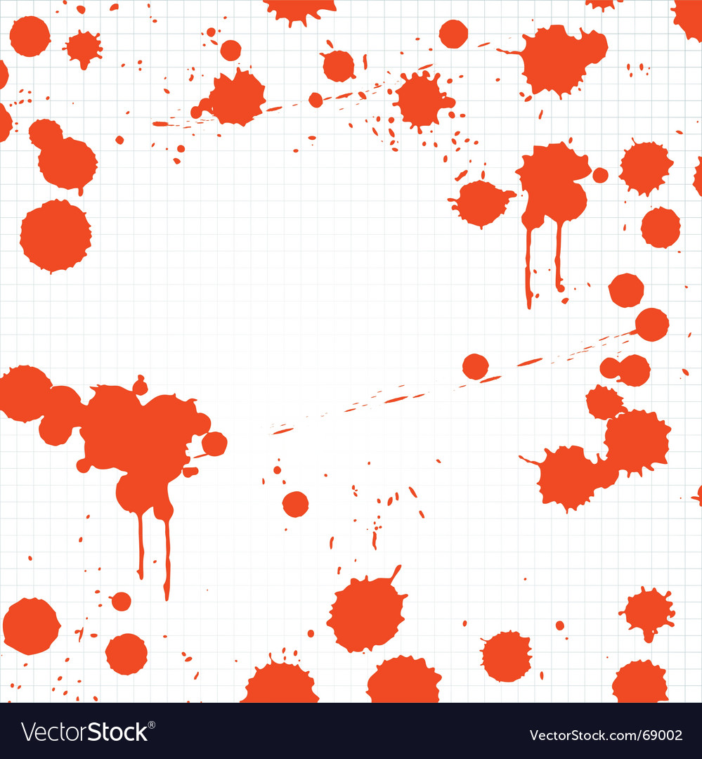 Blood drips vector | Price: 1 Credit (USD $1)