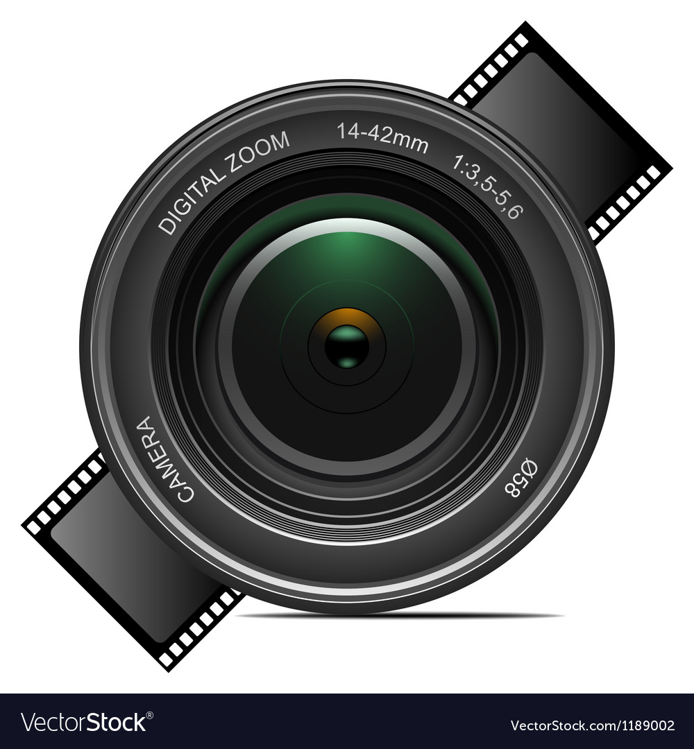 Camera lens vector | Price: 3 Credit (USD $3)