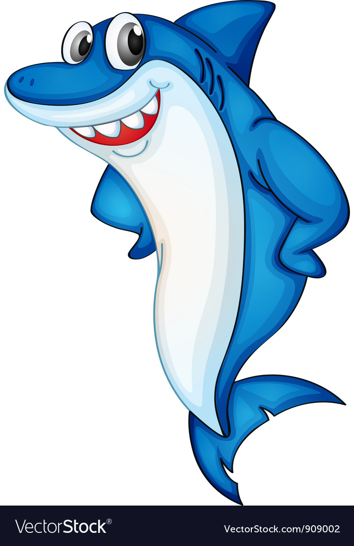 Comical shark vector | Price: 3 Credit (USD $3)