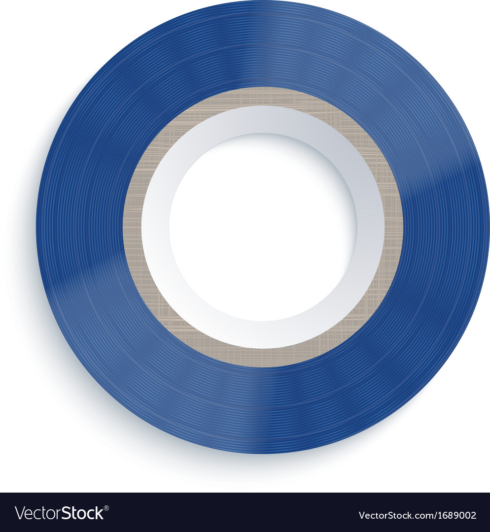 Insulating tape on white background eps10 vector | Price: 1 Credit (USD $1)
