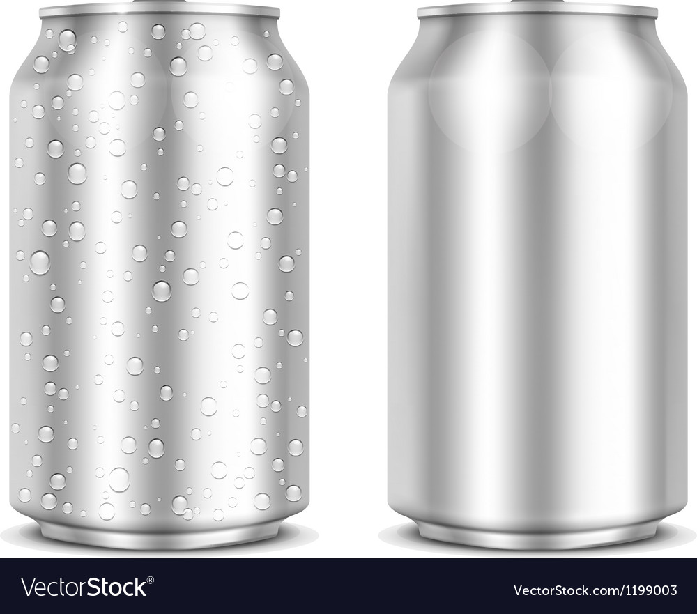 Aluminum can vector | Price: 1 Credit (USD $1)
