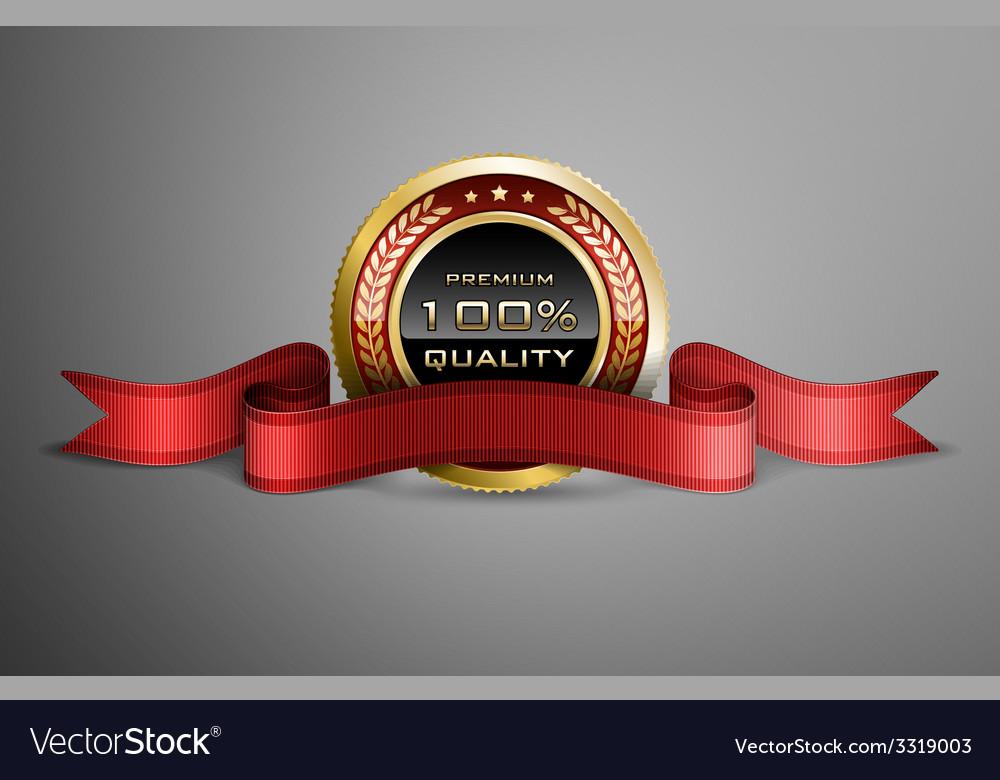 Award ribbon vector | Price: 1 Credit (USD $1)