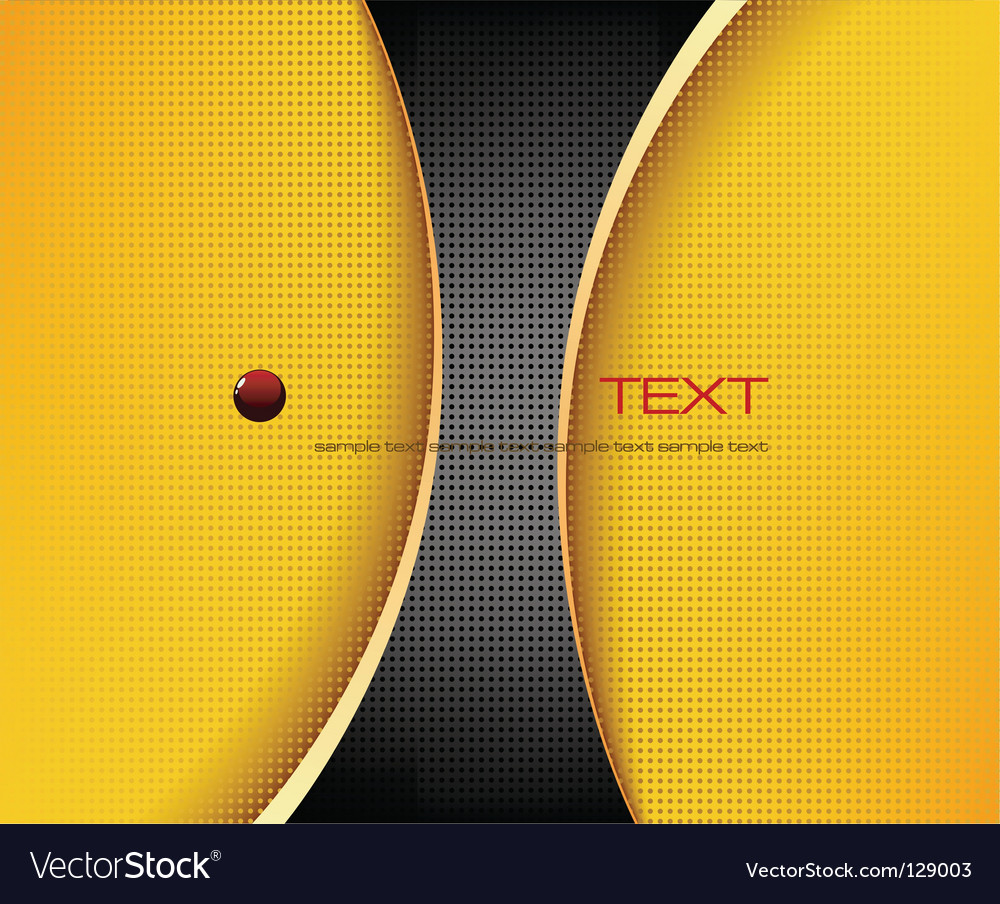 Black and yellow background composition vector | Price: 1 Credit (USD $1)