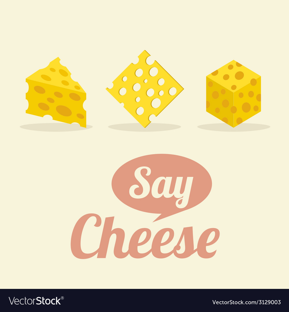 Different shape of cheeses vector | Price: 1 Credit (USD $1)