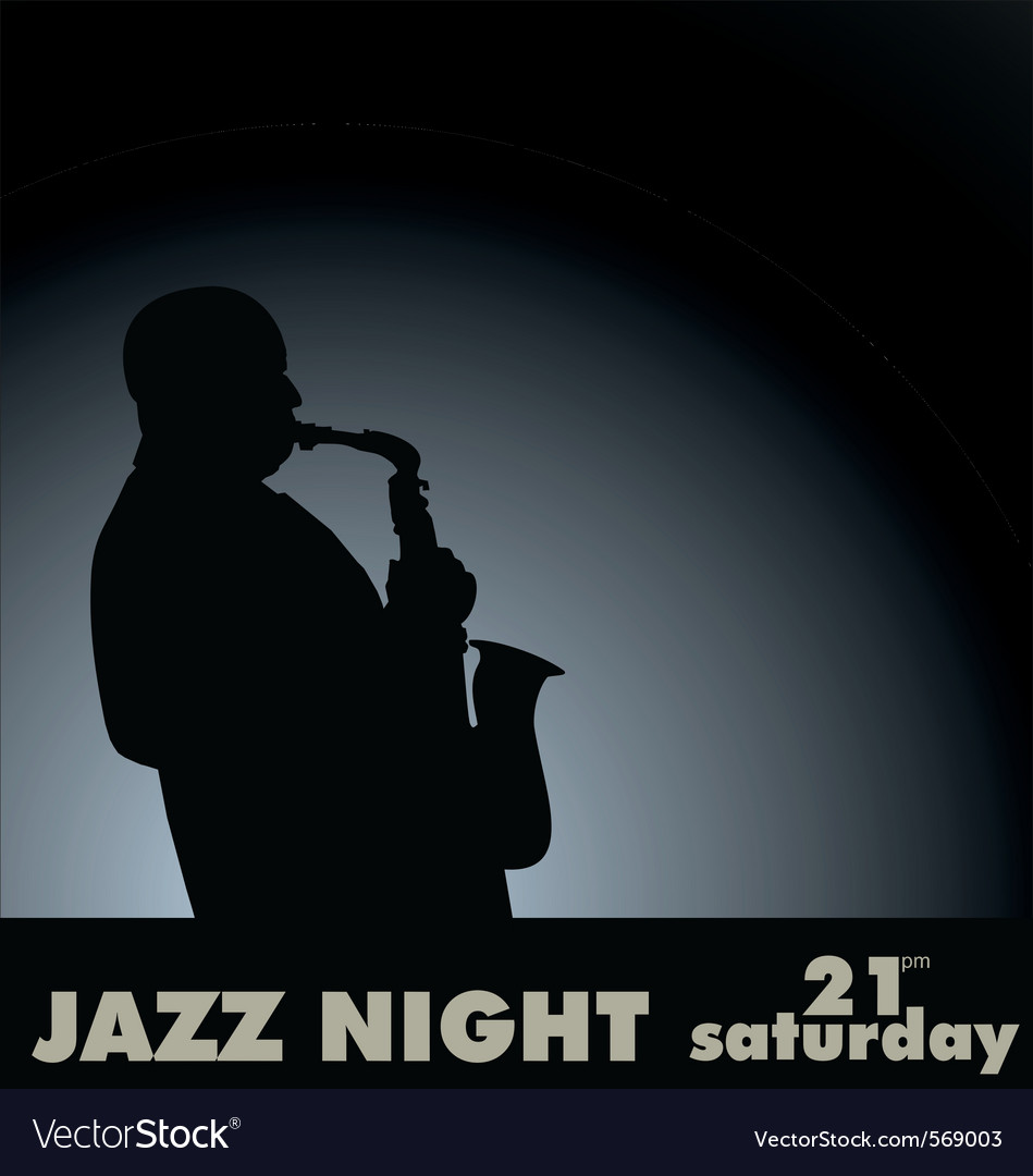 Jazz musician vector | Price: 1 Credit (USD $1)