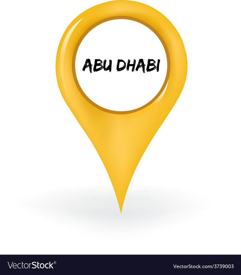 Location abu dhabi vector | Price: 1 Credit (USD $1)