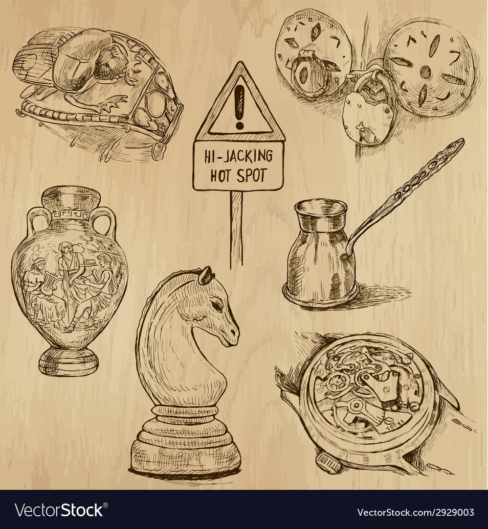 Objects - set no1 vector | Price: 1 Credit (USD $1)