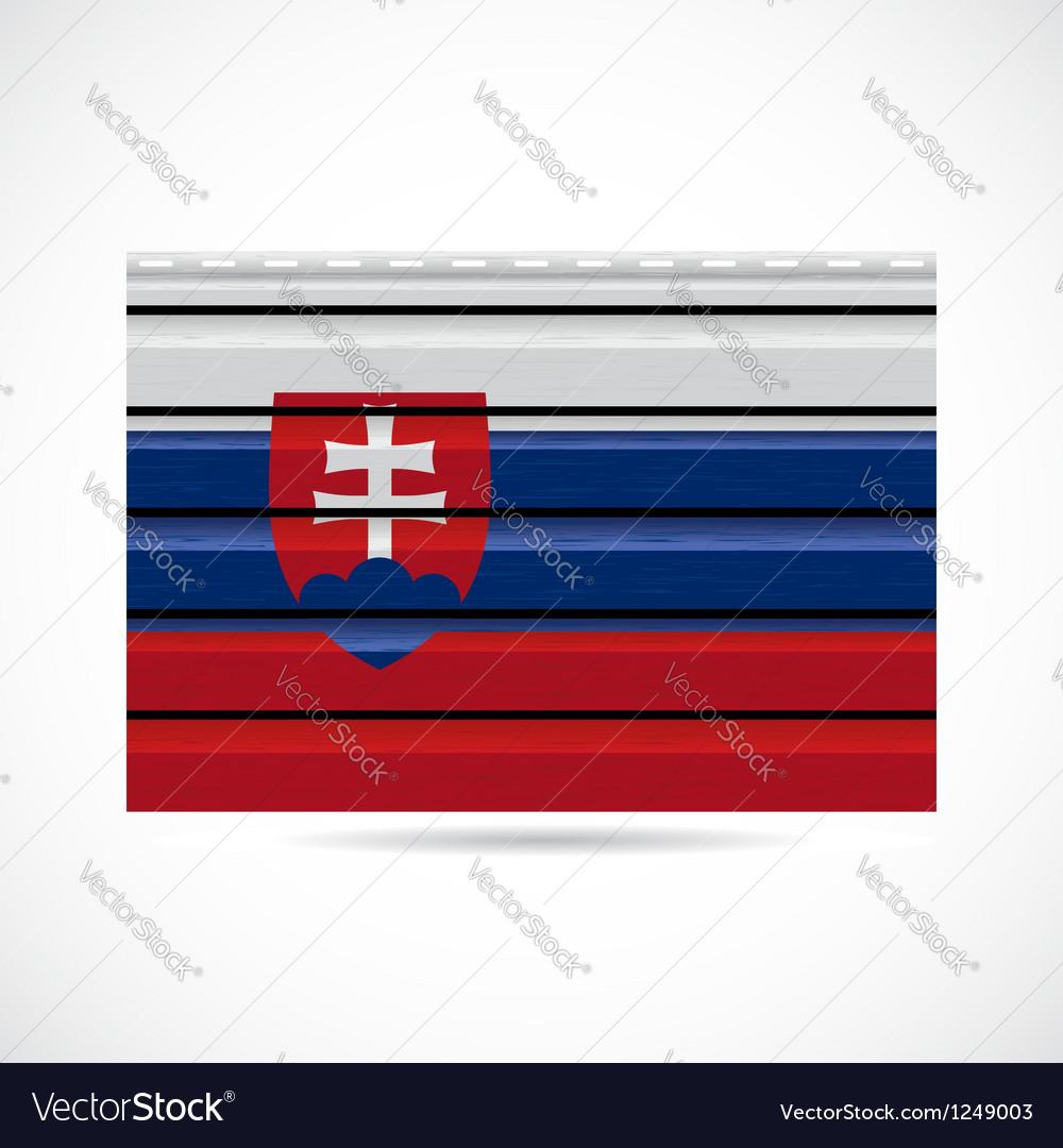 Siding produce company icon slovakia vector | Price: 1 Credit (USD $1)