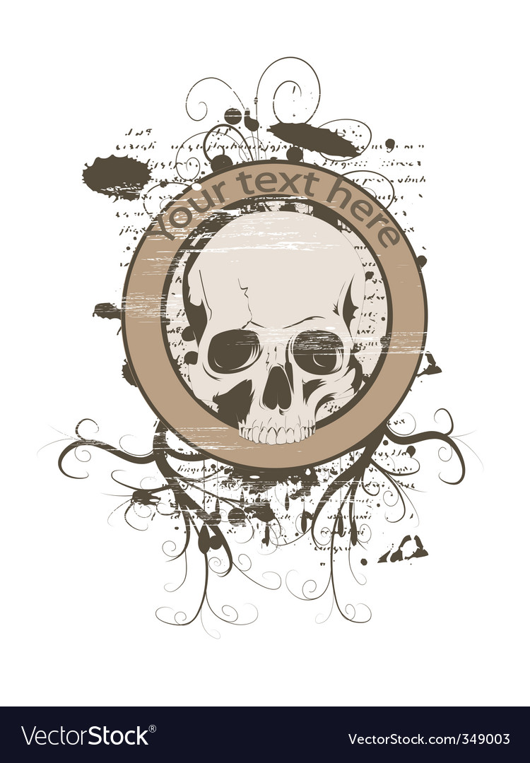 Skull design vector | Price: 1 Credit (USD $1)