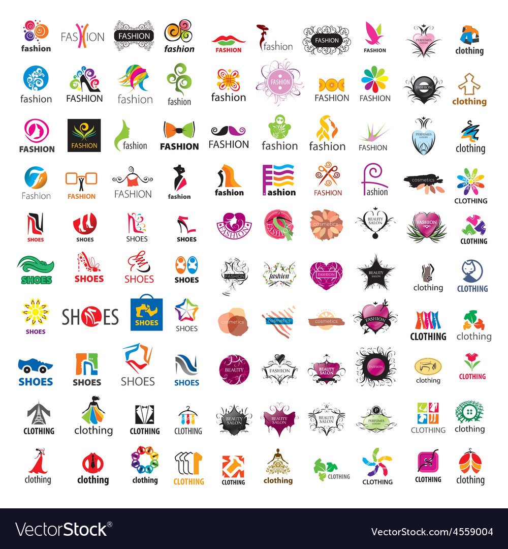 Biggest collection of logo design and fashion vector | Price: 5 Credit (USD $5)