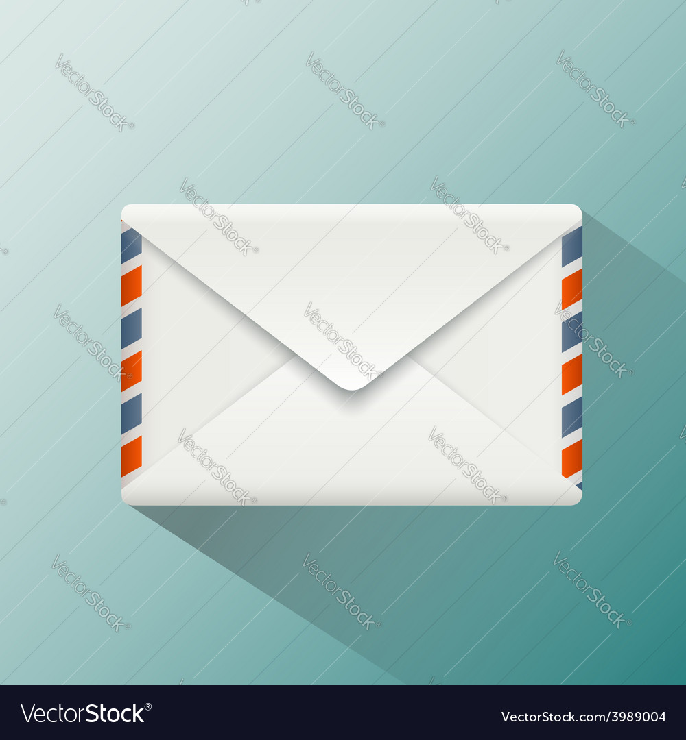Envelope style flat graphics vector | Price: 1 Credit (USD $1)