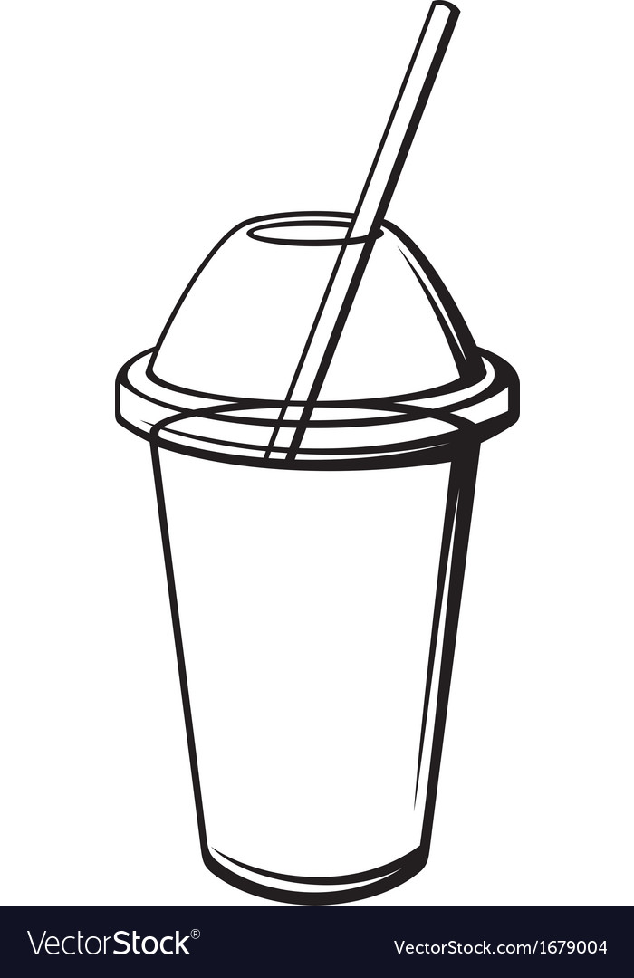Milk shake vector | Price: 1 Credit (USD $1)